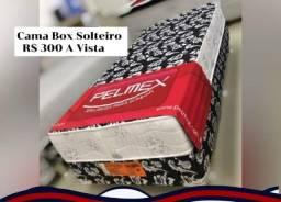 Título do anúncio: Cama box Solteiro Pelmex D-28, cama firme\Tel: *= +  frete grátis Manaus