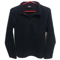 Casaco Esportivo Blusa de Frio Fleece Nord Outdoor Feminino Preto Tamanho M