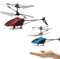 Brinquedo helicóptero de controle por indução (sensor infravermelho)