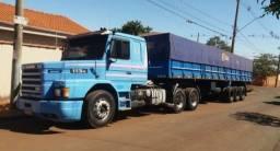 Título do anúncio: Caminhão Scania 113h ano 95/96 carreta Randon ano 2000