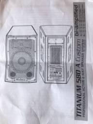 Caixa de som ativa Ciclotron Titanium 580 A Custom