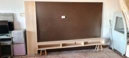 Painel tv com nicho bem grande - ENTREGO