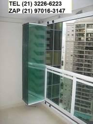 Título do anúncio: Fechamento de varanda cortina de vidro -  direto da fabrica - Pagto Ate 10x