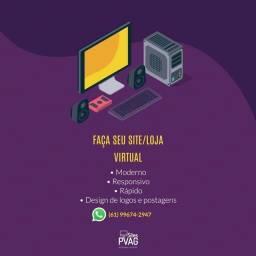 Aumente Suas Vendas Tendo um Site/Loja Virtual/Site Portfólio