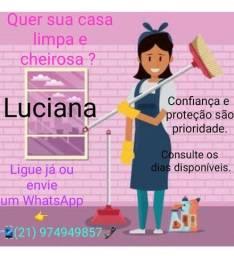 Serviços de limpeza domestica