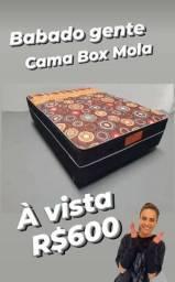 Título do anúncio: --Cama-Box-de-Molas-Casal--!!4