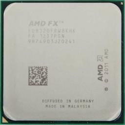Processador AMD Fx 6300 Black Edition, 3.5 até 4.2Ghz, 6 Nucleos, Soquete AMD 3+, 95W