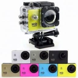 Mini Câmera Filmadora Sports Hd 1080p Aprova D'agua Moto, Bike