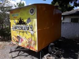Vendo ou troco food trailer