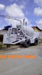Concreto - auto betoneira 3 m3 por traço natal RN Brasil - Diária