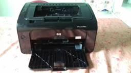 Vendo impressora HP Laserjet P1102W com WiFi