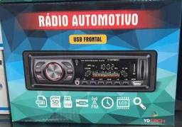 Som Automotivo Mp3 Usb Bluetooth Fm Ydtech novos instalamos