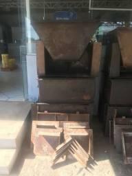 Formas para fabricação de churrasqueiras
