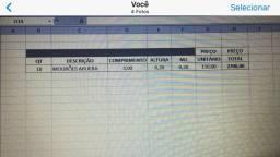 Curral desmontado, Tronco, Mourão, Porteira