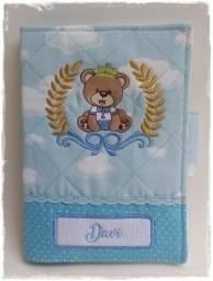Porta carteira de vacinação Urso príncipe Arthur