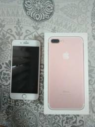IPhone 7 Plus Ouro Rosa 32 GB Tela Retina HD 5.5 3D Touch