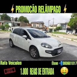 MEGA PROMOÇÃO FIAT PUNTO ITÁLIA 1.4 ANO 2016 COM r$ 1.000 MIL DE ENTRADA - 2016
