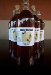 Garrafa de mel puro