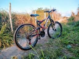 Bicicleta Master Bike Aro 26 Totem Suspensão Full Baixa A-36 21 V