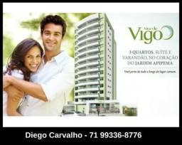 3 quartos 2 vagas 100 m² Mar de Vigo Apipema - 14