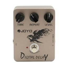 Pedal Delay Joyo+fonte 9v(sem trocas)