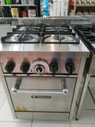 Fogão forno inox * cesar