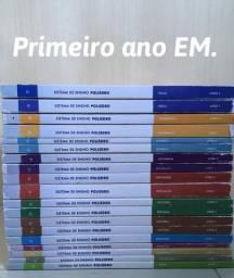 Vendo material do Sistema de Ensino Poliedro