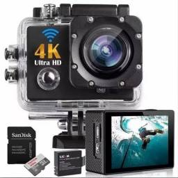 Câmera Action Cam Ultra HD DV 4K