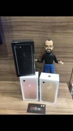 IPhone 7 rose e preto 128gb novo ( LOJA FÍSICA)