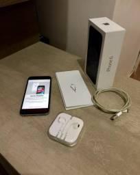 Vendo iPhone 6 16Gb usado com bateria na garantia