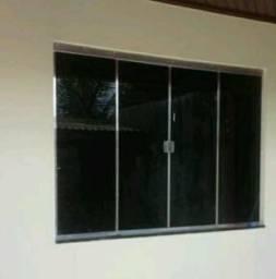 Vidros e alumínio