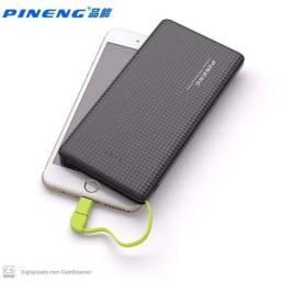 Carregador portátil pineng 5v 1.2A de 10.000 mAh com adaptador para todos os iPhones