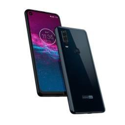Motorola One Action - Azul Denim