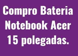 Bateria do Notebook Acer 15 Polegadas