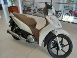 Moto Biz 125 no boleto