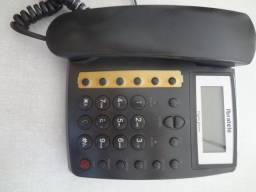 Telefone fixo ibratele com identificador de chamadas