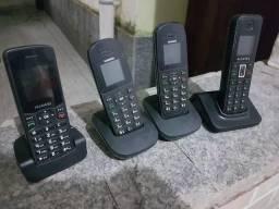 Aparelho telefone claro móvel