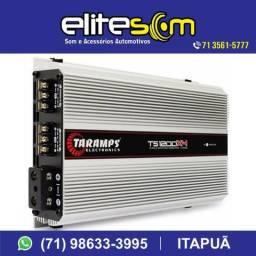 Modulo Taramps Ts 1200x4, instalado, 1200w Rms, 4 Canais na Elite Som comprar usado  Salvador