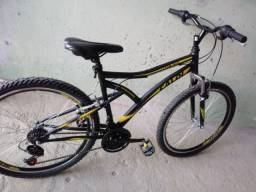 Bike Caloi Andes 18 marchas aro 26
