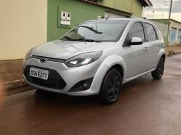 Ford Fiesta 1.6 Flex Hatch 2011/12 - Prata 4P - 2011
