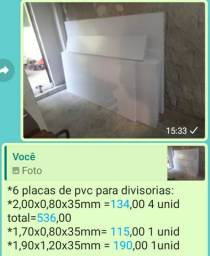 Divisorias pvc