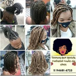 Tranças box braids negraci afro