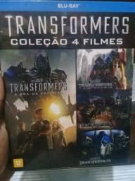 BLU ray transformers 4 filmes originais lacrados