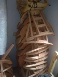 23 estrutura poltrona infantil