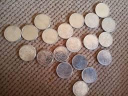 Lote moedas 50cruzeiros 1990
