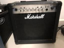Amplificador marshal 15cfx 40w estado de novo!