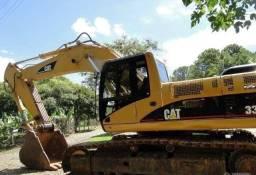 Escavadeira hidráulica parcelada