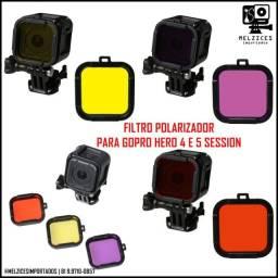 Filtro Polarizador para GoPro Hero Session 4 e 5