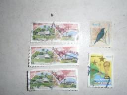 Título do anúncio: Selo Antigo (lote Com 5 Selos Antigos)