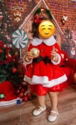 Vestido mamãe Noel fantasia
